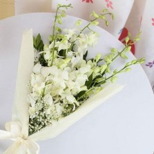 White Orchids Bouquet