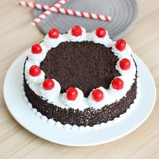 Simple Black Forest Cake (One Kg)