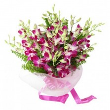 Beautiful Pink Orchid Bouquet
