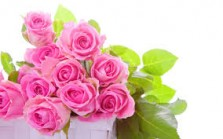Bouquet Roses Pink