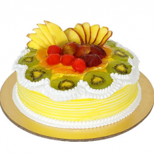 Fruit/Vanilla Cake