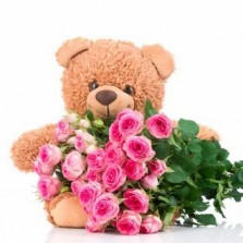 Premium Flowers & Teddy
