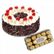 Irresistible Black Forest Cake N Chocolates