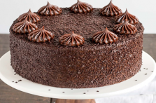 Dutch Chocolate Truffle Cake