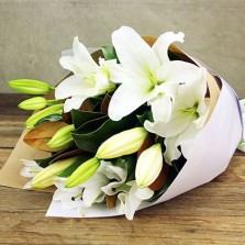 Sweet White Lilies